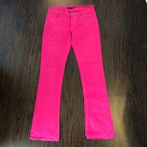Ralph Lauren jeans pink boot cut size 30